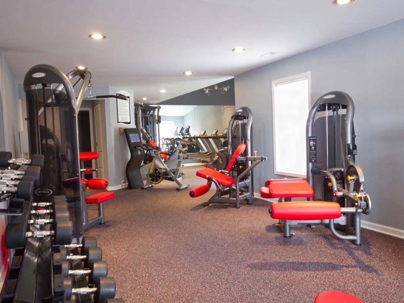 TGM Worthington Green Apartments Fitness Gym 2