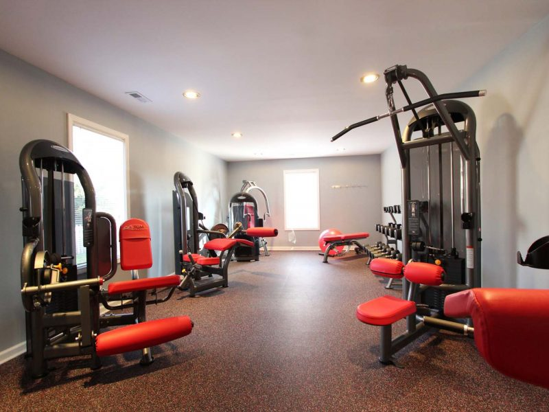TGM Worthington Green Apartments Fitness Gym