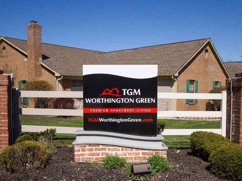 TGM Worthington Green Apartments Monument